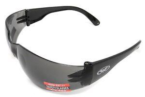 Shatterproof Wraparound UV400 Tinted Motorcycle Sunglasses/Biker Glasses + Pouch