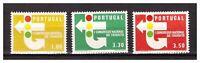 S23915) Portugal 1965 MNH Traffic Congress 3v