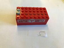 Lego batería recuadro para zurdos 6399 (adhesivo en la parte posterior se disuelve)