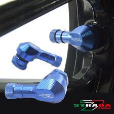 """Strada 7 83 Degree 11.3mm 0.445"""" inch CNC Valve Stems Honda CBR250R 11-2013 Blue"""