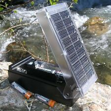 Look At This New Solar Battery Charger For AA AAA C & D! Quick Free Shipping!