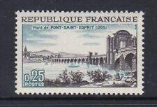France 1966 1481 ** Pont-Saint-Esprit 7ème centenaire du pont
