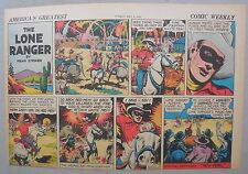 Lone Ranger Sunday Page by Fran Striker and Charles Flanders from 5/4/1941