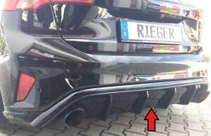 Rieger Heckeinsatz Diffusor passt bei Ford Focus ST MK4 DEH 00088216 bis 115mm