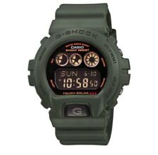 Rare Casio G Shock Tough Solar Military Green Watch G-6900KG G6900KG G 6900 KG