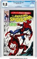 The Amazing Spider-Man #361 CGC 9.8 WP 1st App Of Carnage Cletus Kasady Venom