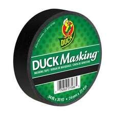 Duck Brand Color Masking Tape 1 In X 30 Yds Black