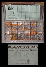 Ceramic Disk Capacitor Assortment - Approximately 175 of 'em