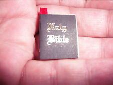 D00084  Miniature Bible, OOAK, Miniatures, Doll House, Jewelry, Crafts