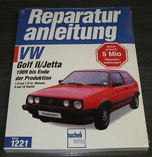 Reparaturanleitung VW Golf 2 II Typ 19E / Jetta II 1,6 l / 1,8 l 8V 16V ab 1989