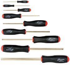 9pc Set Hex Ball Driver ScrewDrivers 1.5 - 10mm GoldGuard™ Bondhus USA 38699