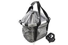 HANDLEBAR BIKE BAG/BASKET FRONT LUGGAGE CARRIER SOFT BAG POUCH QUICK RELEASE