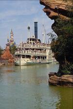 669067 FRONTIERLAND bateau-mouche eurodisney france A4 papier photo