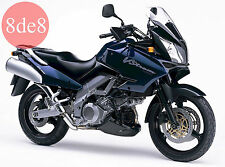 Suzuki DL 1000 V-Strom (2002) - Manual de taller en CD (En inglés)