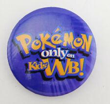 POKEMON TV Show WB Employee Promotional Pin WBSS