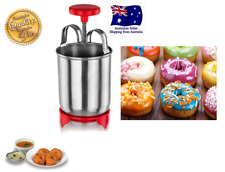 Stainless Steel DONUTS, Doughnuts MAKER with plastic stand $14.99