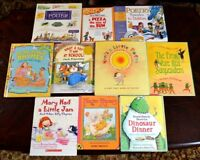 Lot 10 HB/PB Poetry Books for the Young Jack Prelutsky Rhymes P1