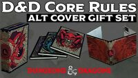 Dungeons & Dragons D&D 5th Edition Core Rules 3 Book Gift Set HOBBY Edition NEW!