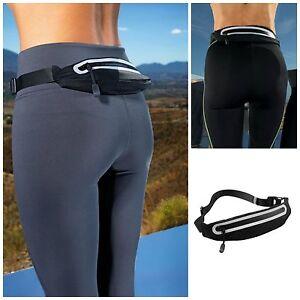 Lean Slim Waist Pack Running Expanding Belt Bum Bag Phone Money Pouch Fanny Pack