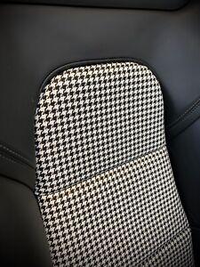 Porsche 991 997 Pepita (Houndstooth) Inserts Bezüge Bucket Seats Schalensitze
