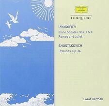 Lazar Berman - Prokofiev: Sonatas Nos. 2 & 8 [New CD] Australia - Import