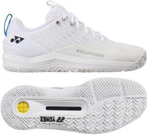 Yonex Power Eclipsion 3 Tennis Shoes Unisex White Racquet All Court SHT-E3MAAEX