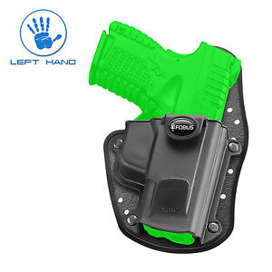 Fobus IWB Inside The Waistband Left Hand Holster for Springfield XDS - XDSC LH
