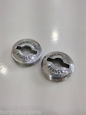 STRONGLIGHT CRANKS VINTAGE RETRO  CRANK ALLOY DUST CAPS 49D STUNNING COND NOS
