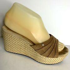 1c19e26562a UGG Australia Suede Slip on Slides Women's Sandals & Flip Flops for ...
