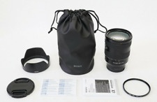 Sony Fe 24-105mm f/4 G Oss Lens Ex+ Bonus 77mm Filter- A7 A7R Digital Camera