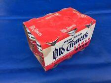 Vintage West Bend Old Timers Lager 6-Pack (6) Empty Steel Beer Cans & Packaging