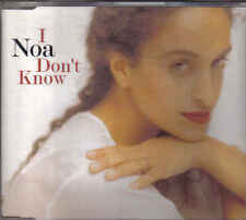 Noa-I Dont Know cd maxi single