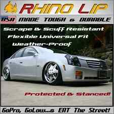 Cadillac ATS, CTS, Front Fascia Chin Lip Splitter Spoiler Edge Scrape Saver Trim
