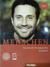 Hueber MENSCHEN A2 Deutsch als Fremdsprache KURSBUCH @New@ 2019 Edition
