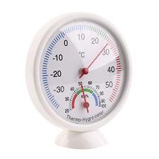 Il giro Indoor Analogico Temperatura Umidità metro Termometro Igrometro CALDO
