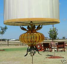 8138/ VINTAGE HANGING SWAG LAMP / LIGHT~ MID CENTURY ORIGINAL W/ Shade