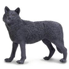 Black Wolf Wildlife Wonders Figure Safari Ltd NEW Toys Educational Figurines
