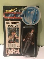 Dapol Doctor Who 4th Dr Tom Baker Figure 1987 BBC Black Carded W-10