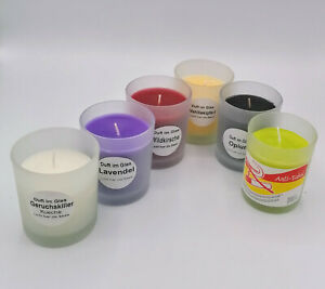 Geruchsexplosion - 6 Stück Duftgläser verschiedene Düfte - Reidel Kerzen