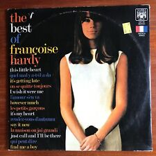 THE BEST OF FRANCOISE HARDY 2 LP SET, MARBLE ARCH 1967 RARE Vinyl is EX