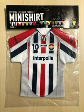 Willem II Tilburg Fussball Trikot fürs Auto - Mini-Kit Holland Minishirt #056