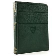 THE ODYSSEY OF HOMER Volume #22 Harvard Classics Leatherette Vintage Book 1937