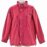 FILA Girls Windbreaker Jacket 11-12 Years Pink Polyester  FK09