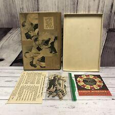 Charlie McCarthys Radio Party Game 1938 Vintage Antique Complete (V7