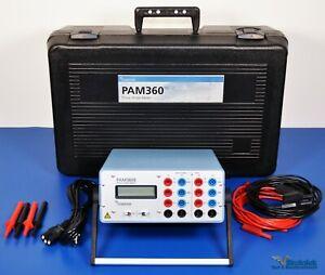 Megger Programma PAM360E Phase Angle Meter 500V 10A - NIST Calibrated
