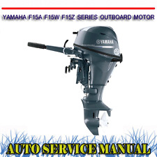 Yamaha saltwater series outboard ebay for Yamaha ox66 225 service manual