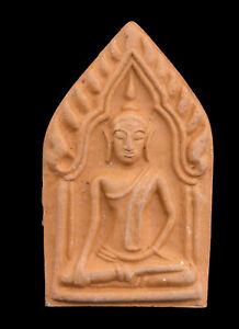 Amulet Thai Phra Khunpaen Wealth Luck Talisman Charm Amour Buddha 1878