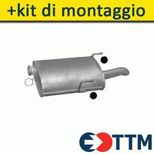 TUBO DI SCARICO ANTERIORE HONDA ACCORD AERODECK 2.2 Benzina Estate 06//1994 a 12//1997