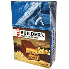 NEW CLIF BAR BUILDER'S PROTEIN Cookies  HEALTHY NUTRITION FOOD NO TRANS FAT 68g