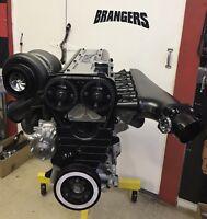 2JZ GTE Turbo - 1200 HP Street/Strip Long Block Engine Toyota Supra 3.0 3.2 3.4